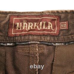 Harkila Marron Détressed Range Short Hommes 52 É.-u. Large 36 Hunter Apparel
