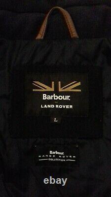 Homme Barbour Filey Veste Matelassée Land Rover Range Rover Collection Taille Grand