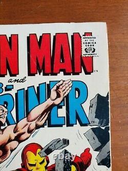 Iron Man Et Sous-mariner #1 (1968). Gamme Vg/f. Âge Silver À Une Prise De Vue