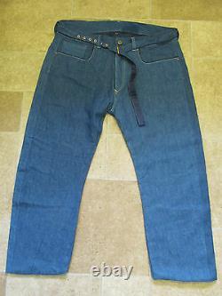 Jackpot Indigo De Levie Range Lined Jackpot Indigo Five Pocket Jeans Rare W38 Rrp 525 Bnwot