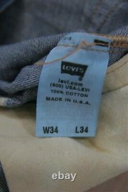LVC Levi's LVC Big E Brûlé 1947 501 # 475019101 (34x34) Printemps 2006