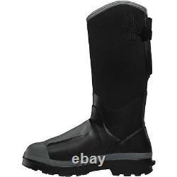 Lacrosse Hommes 248310 14 Alpha Range 5mm Nmt/met/pr Black Shoes Working Boots