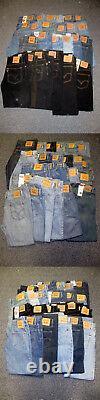 Levis Hommes Tri 500 Jeans Gamme De 24pcs. Assortments 500levisirr Efashionwholesa