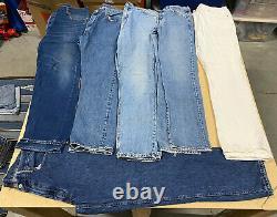 Lot De 25 Levi's Denim Jeans And Shorts Modern/vintage Wholesale