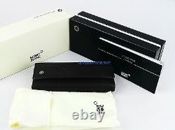 Montblanc Soft Toffee Toffee Coffret Key Case Portefeuille Bague 103698 Nouvelle Italie