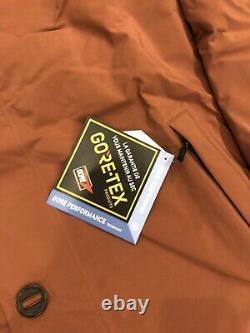 New Patagonia Range Frozen Hommes Parka Duvet 700 Coupe-vent Imperméable Gore-tex L