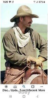New Resistol Kevin Costner Chapeau De Cow-boy Réplique Du Film Open Range