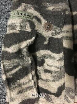 New Vtg Columbia Gallatin Range Wool Camo Cargo Pants 40/36 Cargo Pants 90s Phg