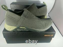 Nib Merrell Range Laceless Ac+ Hommes Trail Running Slip-on Sneakers Chaussures Sz 12