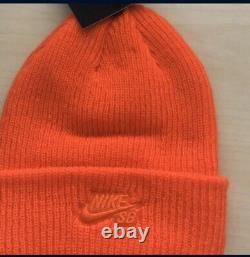 Nike Sb X Concepts Mallard Beanie One Size Orange Turdunken Range