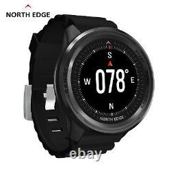 North Edge Diving Smart Watch Range 5 Pour Out Door Sports Explore (noir)
