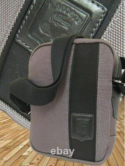 Nouveau Vintage Lacoste Cross-over Unisex Shoulder Bag Off The Court Range Grey (s)