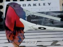 Nouvelle Gamme Oakley Evzero 9327-1038 Lunettes De Soleil Matte White Avec Lentilles Prizm Road