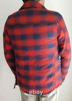 Nwt New Abercrombie & Fitch Jay Range Cardigan Sweater Taille Homme Petite
