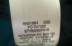 Nwt Patagonia Nano Air Full Range Insulation Deep Sea Blue Jacket Homme 2xl XXL