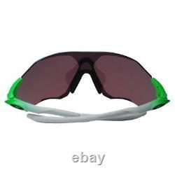 Oakley Oo 9327-09 Evzero Range Green Fade Avec Lunettes De Soleil Prizm Field Chrome Sport