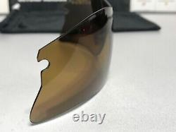 Oakley Radar Range Bronze Iridium Polarized Lens Nouveau Avec Oakley Microfiber
