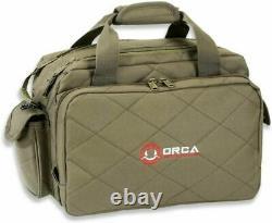 Orca Tactical Gun Range Sac Pour Pistolets De Poing, Pistols Et Ammo Duffle Od Green
