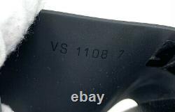 Original Louis Vuitton Monogramm Slide Sandalen #7 Us 8 Schwarz Braune Rang Ab