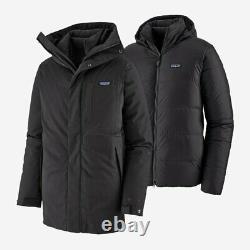 Patagonia Frozen Range 3-en-1 Parka M's XL #27970 Black Msrp 799 $ Veste D'hiver