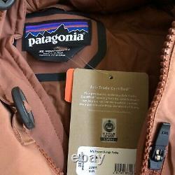 Patagonia Frozen Range Parka Sisu Brown Très Rare Mens XL Pdsf 699 $ Nouvelles Balises W