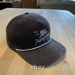 Patagonie Coastal Range Corduroy Hat Forge Grey