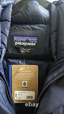 Patagonie Hommes Surgelé Range 3-en-1 Parka Marine Moyen Nouveau Avec Tags 799 $