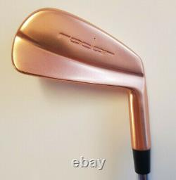 Radar Golf Forged Finition Brute Cuivre Tour Irons Lame 3 Pw Gamme Limitée Rare