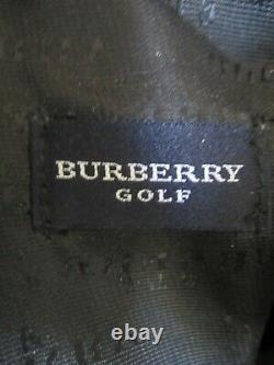 Rare Burberry Soft Shell Golf Driving Range Dimanche Sac Nwt