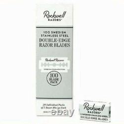 Razors De Sécurité Rockwell Gamme Complète 2c, 6c, 6s, Razor Stand & Double Edge Blades