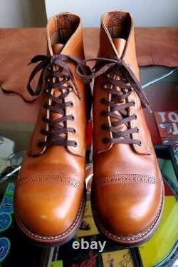 Red Wing 8011 Iron Range Manson Boots Taille 9 Pouces Chaussures Hommes