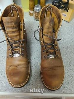 Red Wing Heritage8085 Gamme De Fer Copper Rough & Tough Made In USA Hommes 8e2