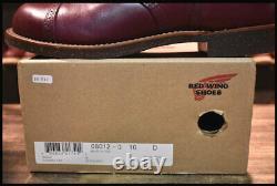 Redwing 8012 Iron Range Bottes Manson Burgundy Settler 10 D Japan Première Expédition