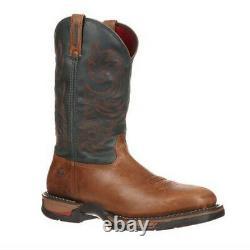 Rocky Long Range Homme Imperméable À L'eau Western Pull-on Boot 8656