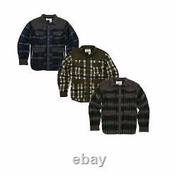 Smith & Wesson Range Men Concealed Carry Shirt / Veste, 80510, Couleurs Plaid