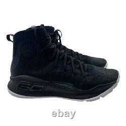 Sous Armour Hommes Taille 8 Noir Ua Steph Curry 4 Plus De Gamme Basketball Chaussures