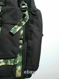 Sous Armour Ua X Projet Rock Regiment Usdna Gray Camo Sac À Dos 1315435-001 Nouveau