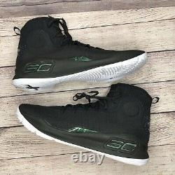 Sous L'armure Curry 4 Plus De Gamme 1298306-014 Basketball Chaussures Hommes Taille 17