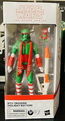 Star Wars Black Series Holiday Edition Gamme Sith Clone Trooper Nouveau