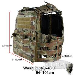 Tmc Tactical Vest Ncpc Plate Carrier Cp Style Cordura Molle Airsoft Paintball