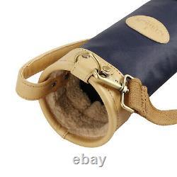 Tourbon Golf Clubs Bag Sunday Round Pack Ball Carry Case Travel Range Bag Bleu