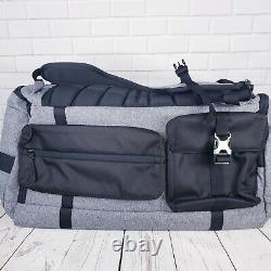 Ua Projet Rock Range Duffel Bag 1325332-040 Gris Noir/jaune 23x11x11