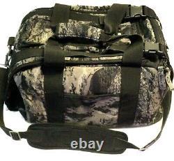Ultra Rare Oakley Duffel Bag Black Grey Camo Imprimer Tactical Range Gear Day Pack