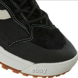 Vans Hommes Noir Ultra Gamme Bottes En Cuir Taille Uk 9 Nouveaux Boxed