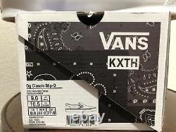 Vans Kith Vault Og Classic Slip-on Mountain Range Hommes Taille 9. Prêt À Expédier