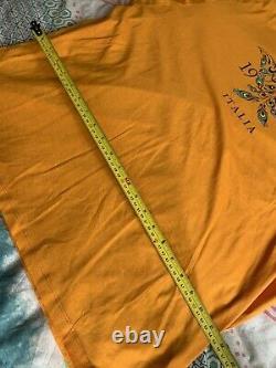 Versace 1969 Gamme Homme T-shirt Taille Supérieure XXL 100% Authentique Ultra Rare
