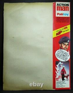 Vintage 1980-82 Action Man Long Range Desert Group Carded Locker Box Gi Joe