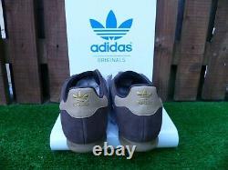 Vintage Adidas Milano 80s Occasionnels 2016 Villes Range Uk10 Bnw Rare Colourway