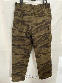 Vintage Columbia Mélange De Laine Phg Gallatin Gamme Camo Pantalons 36 X 33 Mens Chasse