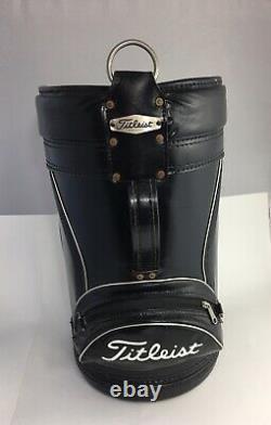 Vintage Titleist Den Caddy Golf Bag Range Porte-balls Porte-bouteilles Fabriqués Aux États-unis